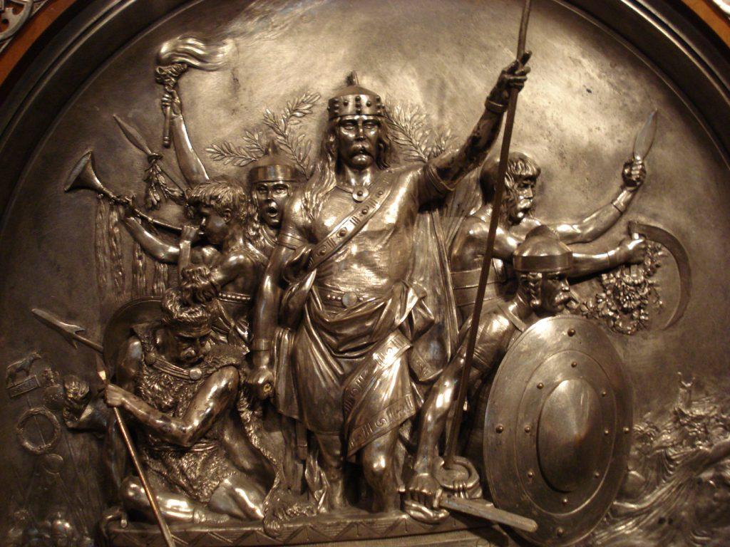 Rey Merovingio Meroveo