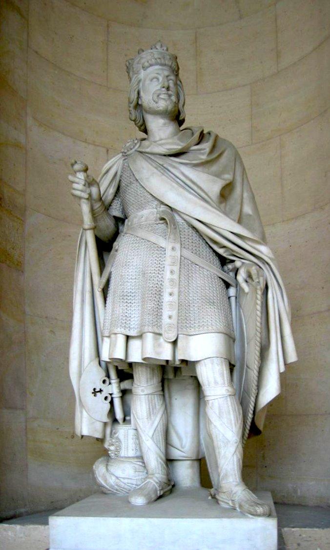 Carlos Martel - Ancestro de los Reyes Carolingios