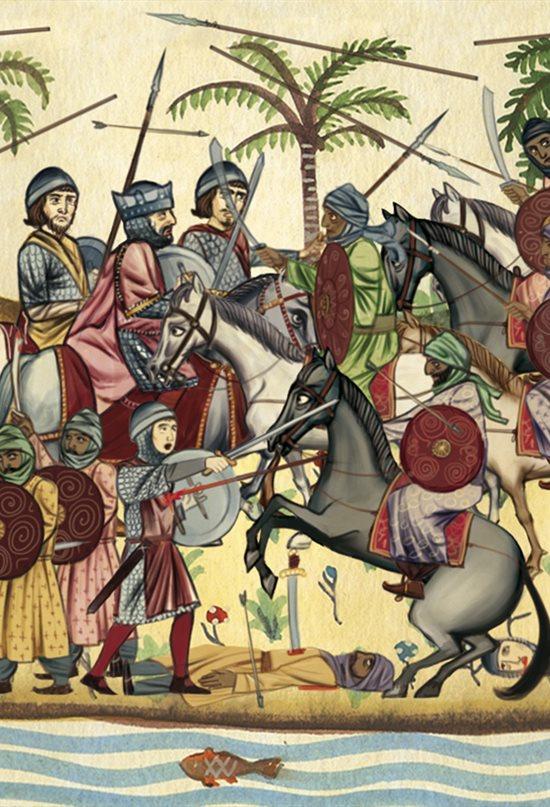 Rey Visigodo Roderic (Rodrigo)- Batalla de Guadalete