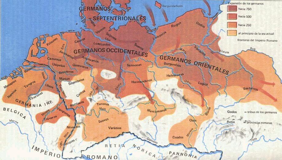 Tribus Germánicas