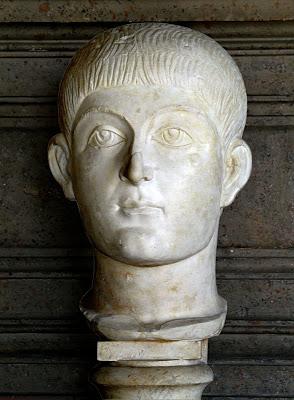 Busto del emperador Valente (364-378 d.C.)