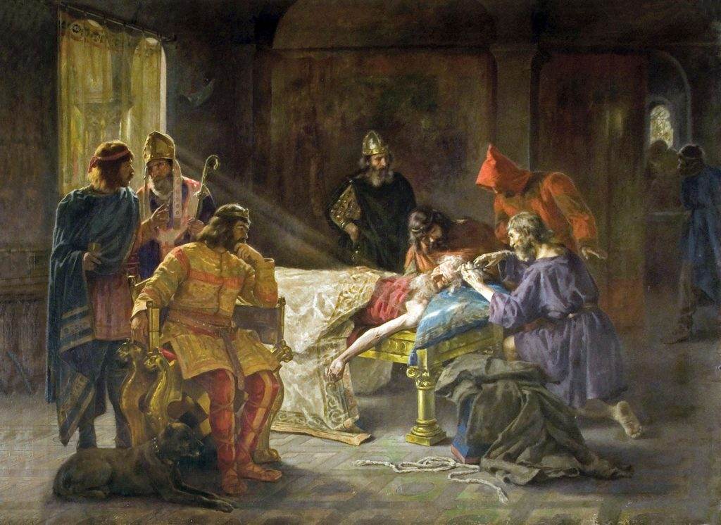 La tonsura del rey Wamba