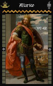 Rey Visigodo Alarico I - Allareiks / Ariano Madaharius