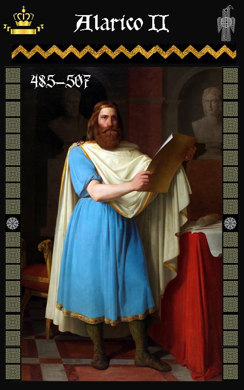 Rey Visigodo Alarico II (485-507)