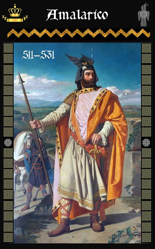 Rey Visigodo Amalarico (511-431)