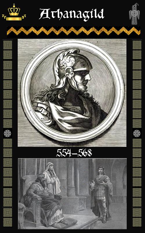 Rey Visigodo Athanagildo (554-568)