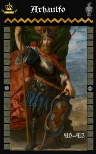 Rey Visigodo Athaulfo (410-415)
