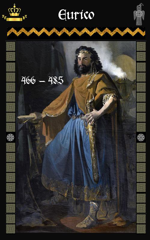 Rey Visigodo Eurico (466-485)