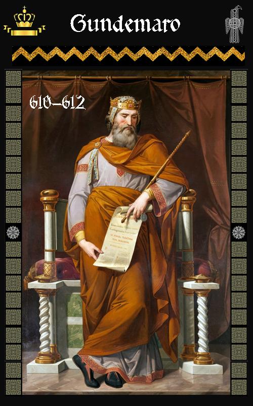 Rey Visigodo Gundemaro (610-612)