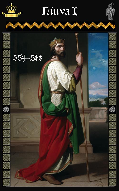 Rey Visigodo Liuva I (568-572)
