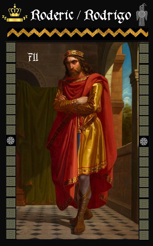 Rey Visigodo Roderic Rodrigo