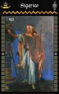 Rey Visigodo Sigerico (715)