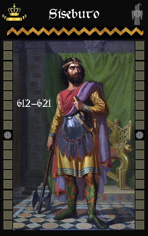 Rey-Visigodo Sisebuto (612-621)