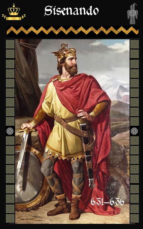 Rey Visigodo Sisenando (631-636)