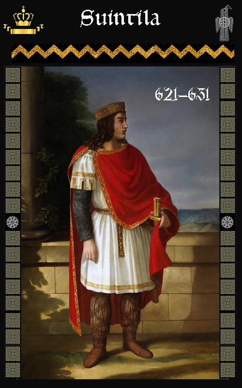 Rey Visigodo Suintila (621-631)