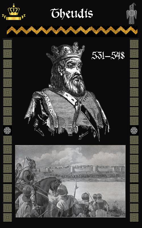 Rey Visigodo Theudis (531-548)