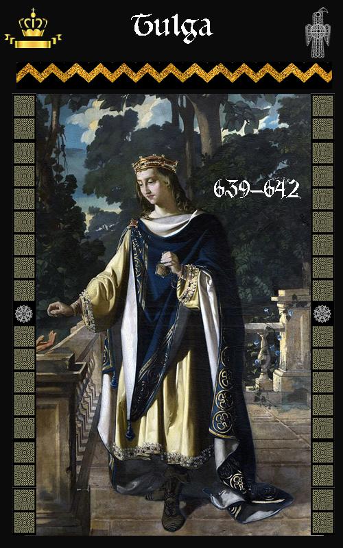 Rey Visigodo Tulga (639-642)