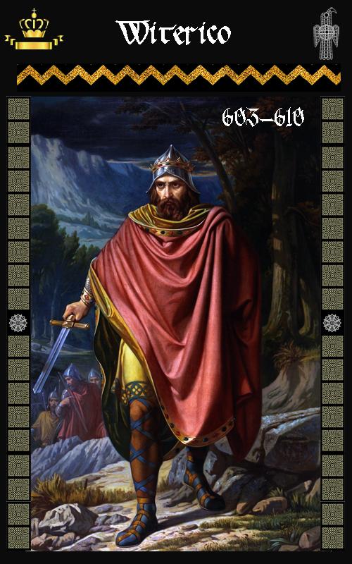 Rey Visigodo Witerico (603-610)