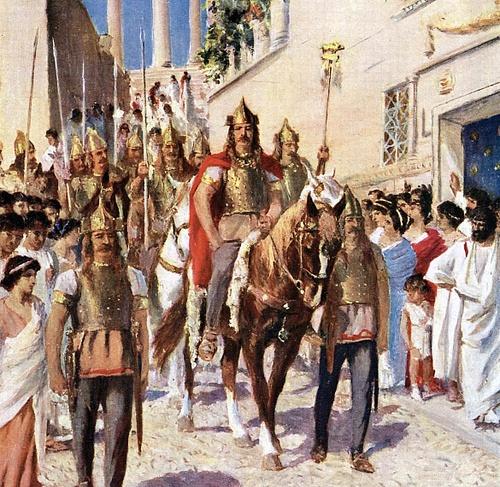 Saqueo de Roma (410) - Alarico
