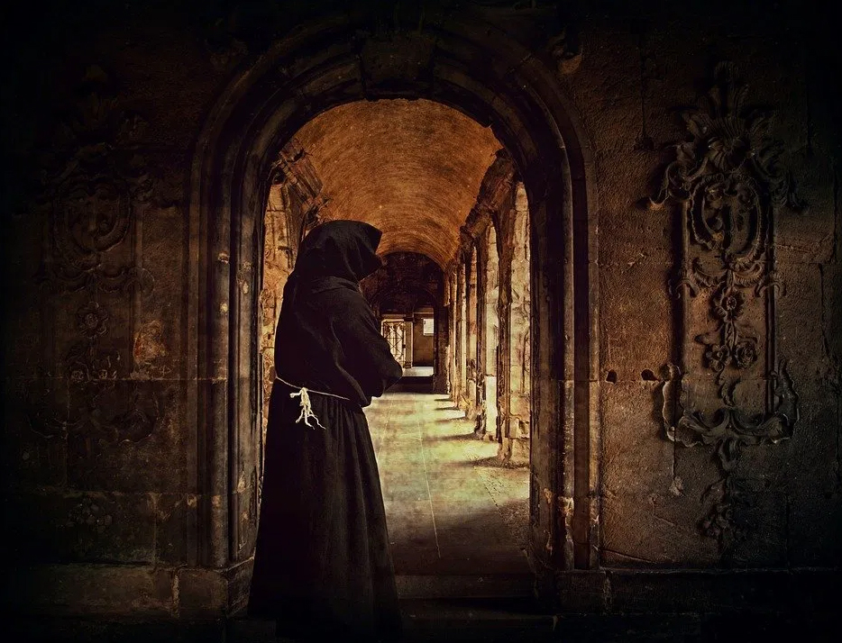 Wamba se reira a un Monasterio