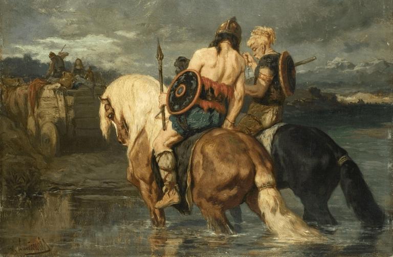 Godos emigrando - Batalla de Adrianópolis