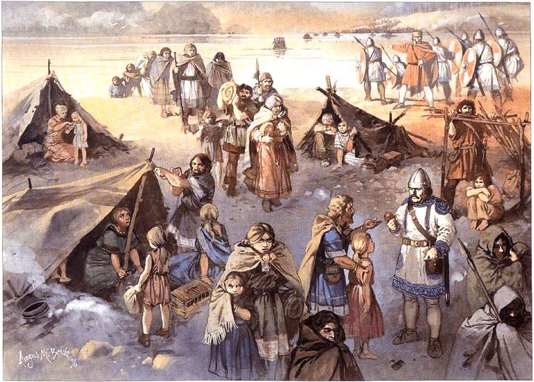 Godos en el Danubio - Batalla de Adrianópolis