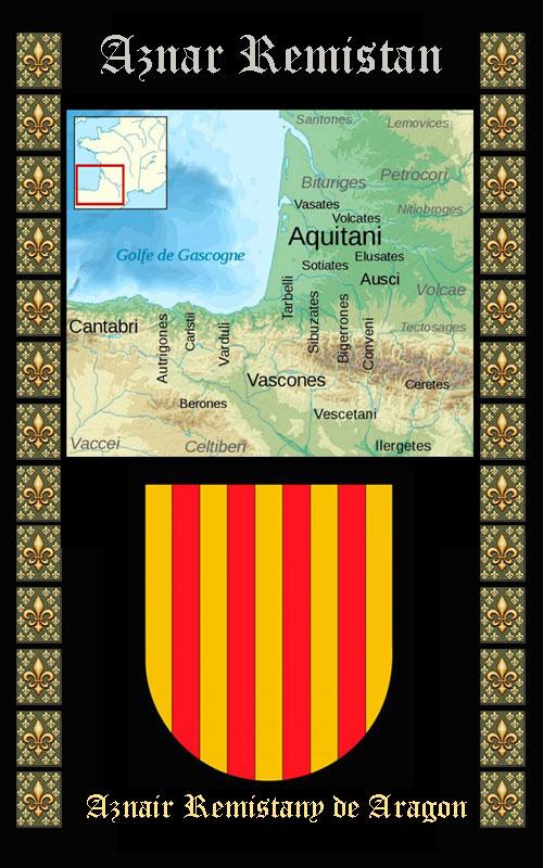 Aznar Remmistan, hijo de Eudes I de Aquitania
