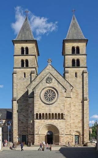 Abadía de Echternach - Santa Irmina de Ohren,