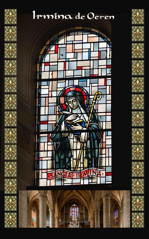 Santa Irmina von Oeren Trier