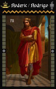 Rey Visigodo Rodrigo (Roderic)